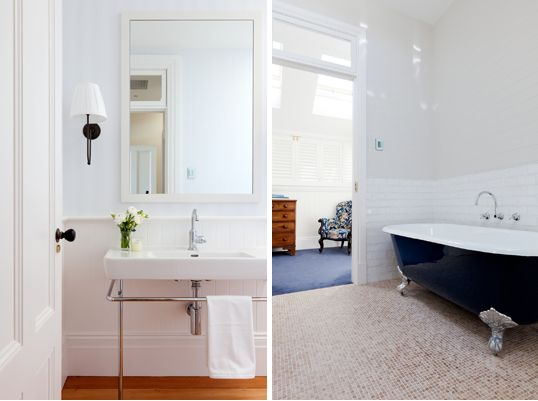 Arent & Pyke blue coastal bathroom
