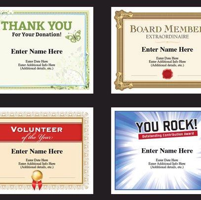 77 best Award Certificates Templates images on Pinterest Award - sample volunteer certificate template