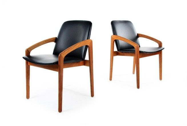 103 best images about mcm dining tables and chairs on pinterest danish modern herman miller - Kai kristiansen chair ...