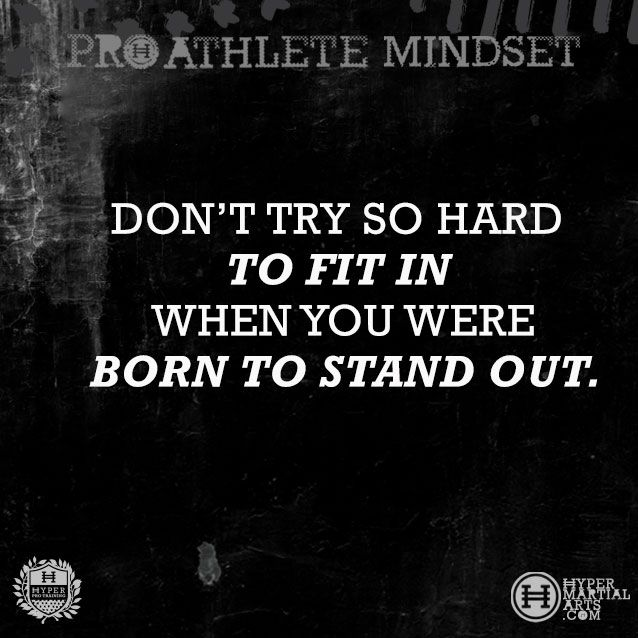 a quote that inspires our hyper martial arts pro athletes