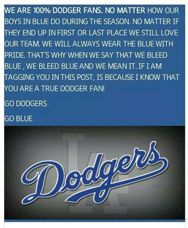 Dodgers Girl 4Life