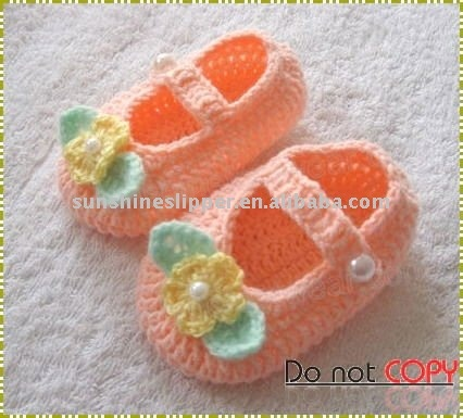 baby knitted shoes - just for inspiration