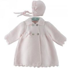 Abrigo de bebe links de picos 39650   Pangasa Baby