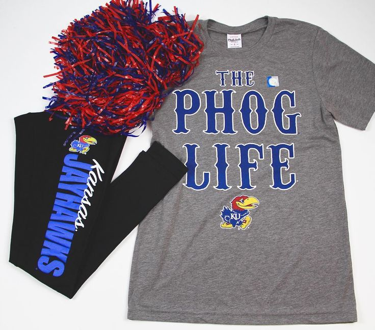 The #JayhawkNation wouldn't be the same without the Phog! Grab a Phog Life tee of your own from the #KUBookstore - available in store and online! Shop today! Link in bio.    #OOTD #OutfitOfTheDay #KUAthletics #CrimsonAndBlue #Jayhawks #KU #KUApparel #WaveTheWheat #JayhawkPride #RockChalk #RCJH