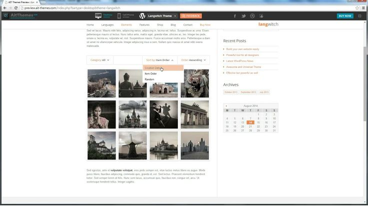 How to create and use #Portfolio #element in #WordPress #themes from www.ait-themes.club