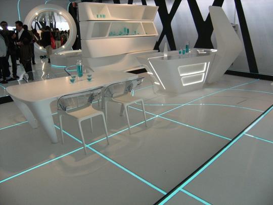 Tron Legacy Interior Design Utilizing Light Tape Technology Haute Life Pinterest