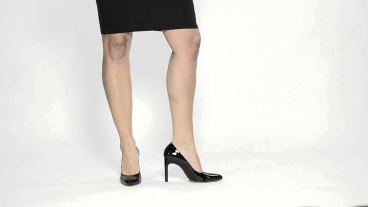 Louise M shoes -Hogl Black Patent High Heel