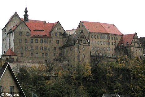 Colditz Castle in Saxony, Germany, where many British prisoners of war were sent. Their prison records are now available for the first time online