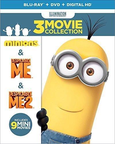 Despicable Me 3-Movie Collection (Despicable Me / Despicable Me 2 / Minions) [Blu-ray]