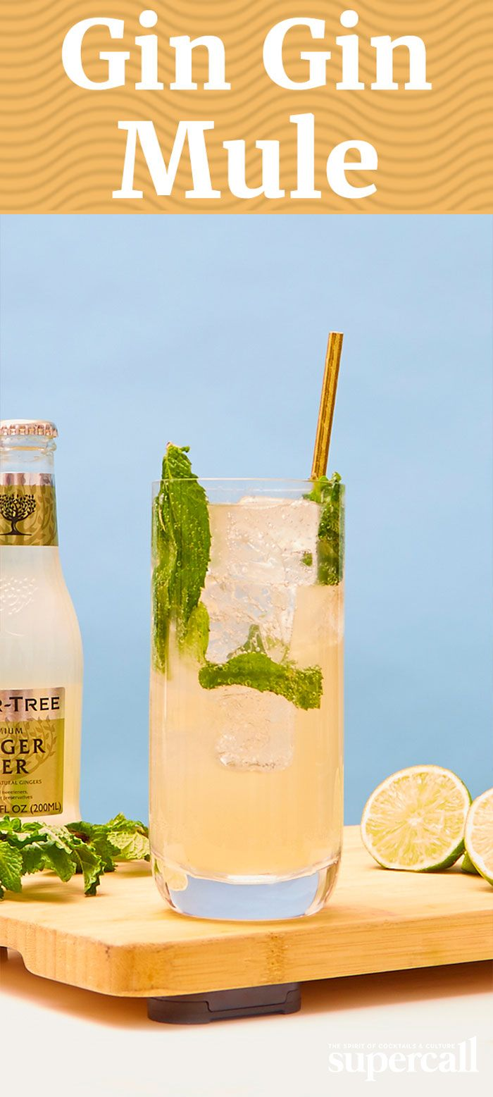 While it has elements of both a Mojito and a Buck, the highball is a Mule through and through, thanks to the ginger beer. We use a house-made ginger beer that's super easy to make at home, but if you have to go with a store-bought version, we like a gingerier brand like Maine Root, Fever Tree or Reed's.