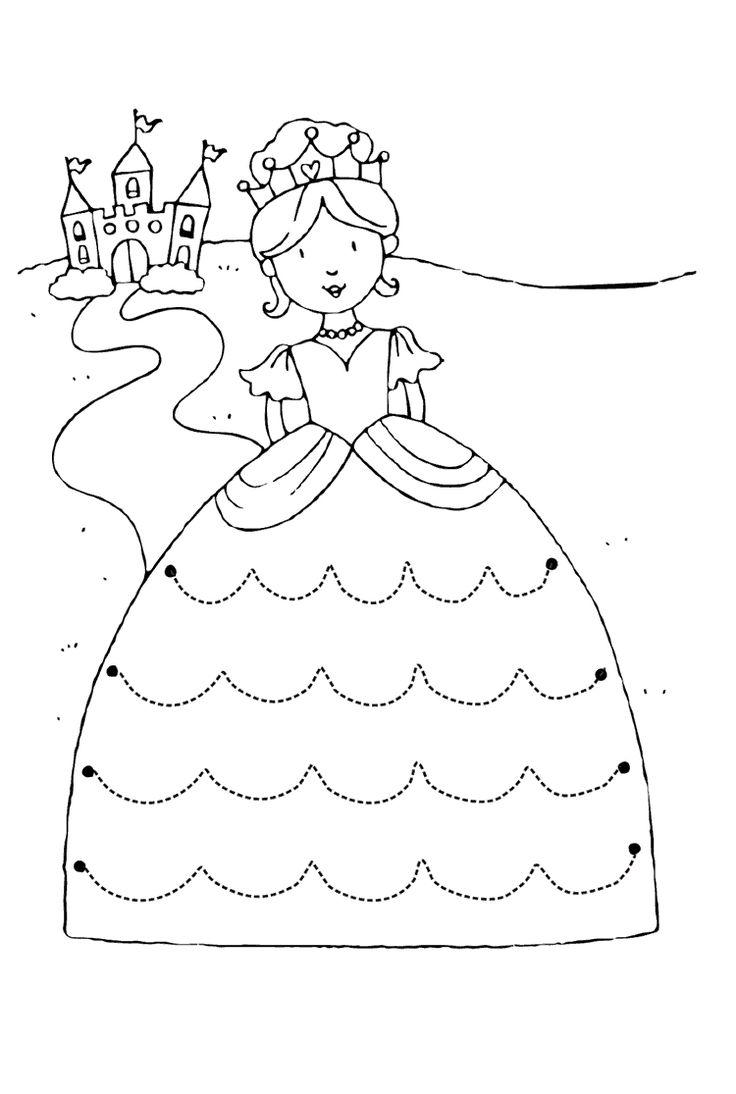 Prenses çizgi çalışma sayfası ve çizgi çalışmaları tamamlama birleştirme kolay basit kağıdı sayfaları, etkinlikleri resmi ücretsiz olarak indirin ve çizgi çalışması örneklerini yazdır, çıkart, indir. Free line work worksheets download printable.