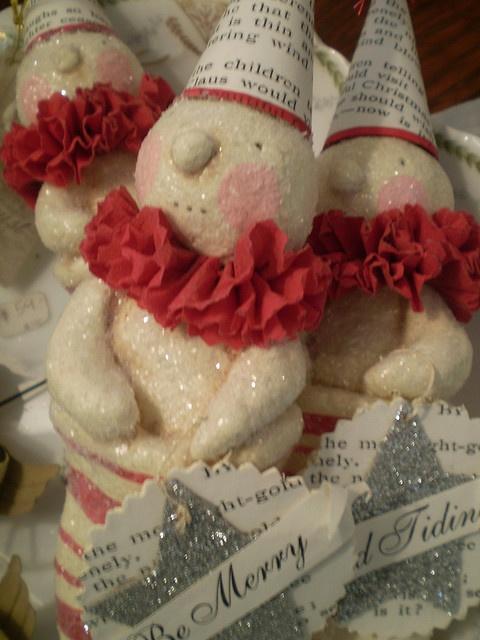 salt dough snowman idea