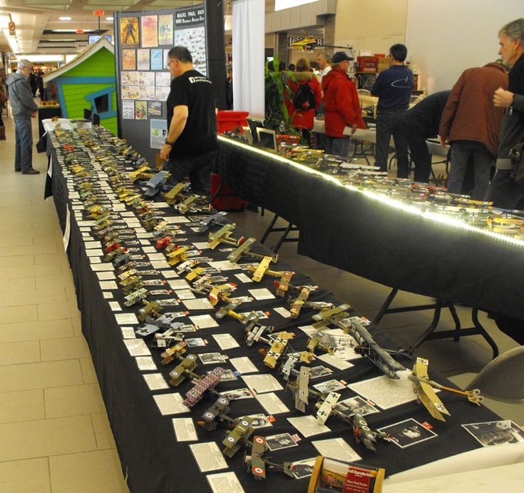 Marc Racine's amazing collection of WW1 aircraft in 1/72 scale. Marc has been featured on Regional Contact.