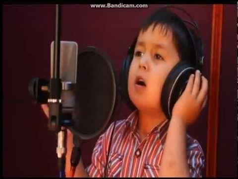 2013 New Music Uzbek boy of 4 years Узбекский мальчик