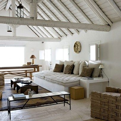 Take a look around interior designer Jacques Grange's beach hut.