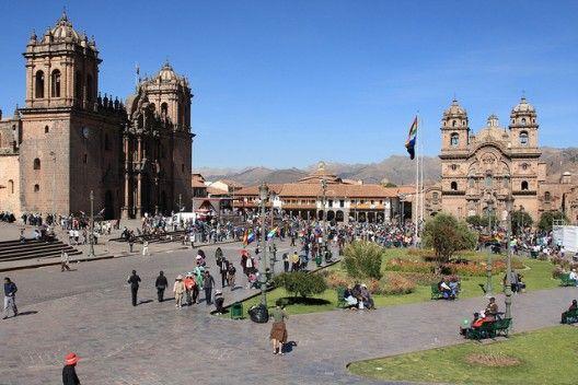 #Plaza de Armas de Cuzco, Perú
