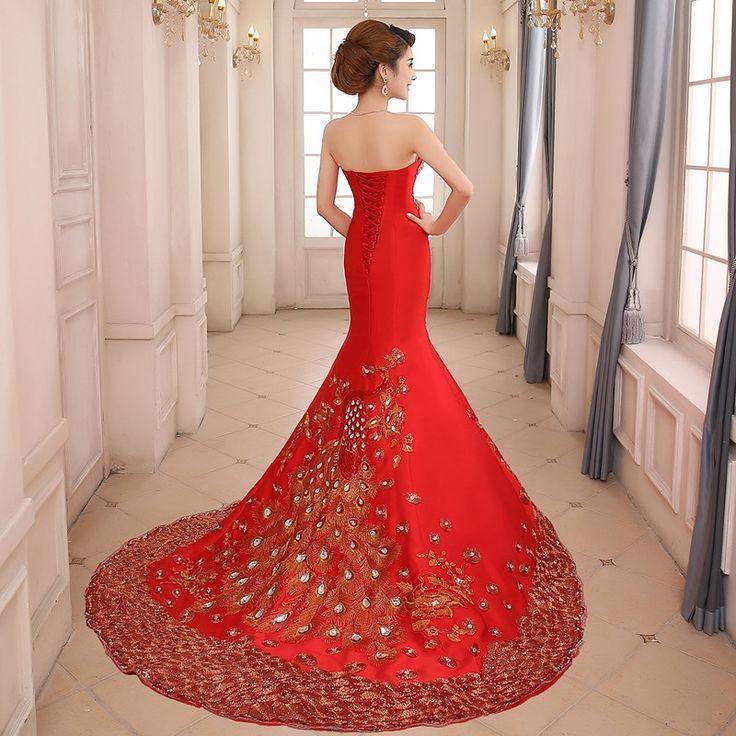 Navliekanie korálok vyšívanie súd Vlak večerné šaty 11172263 - EricDress.com