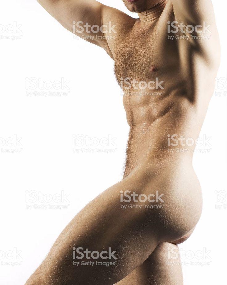 근육질의 살색 숫나사 토르소 – royalty-free 스톡 사진