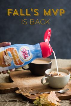 Coffee-mate Pumpkin Spice flavor coffee creamer is the fall favorite you rediscover again and again. Rich and smooth, our creamer has a spicy pumpkin flavor that's lightly sweetened. Stir in the amazing goodness for a sensational sip that's lactose-free and cholesterol free.