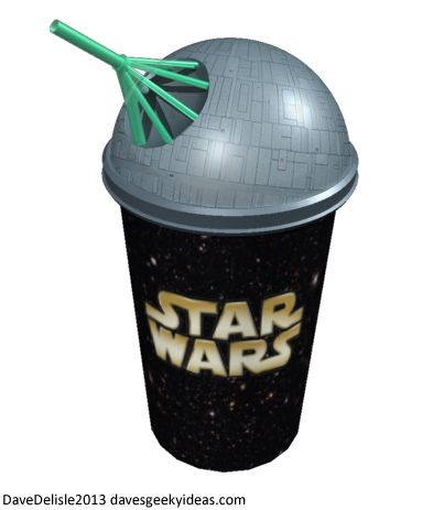 Only an idea right now: Star Wars Death Star Cup Slurpee Slushee 7-11 Dave Delisle 2013 davesgeekyideas.com