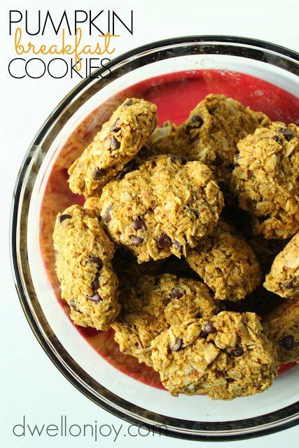 Dwell on Joy: Pumpkin Breakfast Cookies