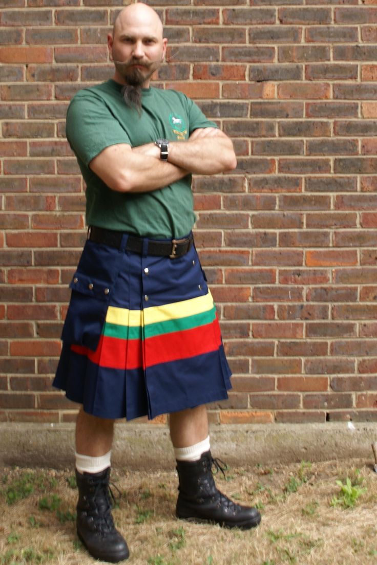 Royal Marines kilt