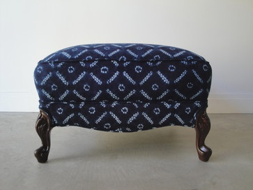 Indika Ottoman - eclectic - ottomans and cubes - chicago - The Chair Affair LLC