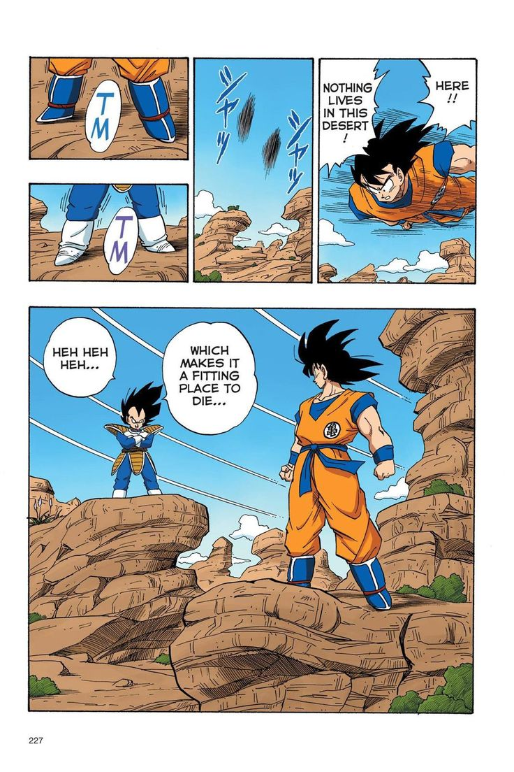 Read Dragon Ball Full Color - Saiyan Arc Chapter 33 Page 14 Online For Free