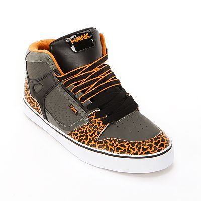 Tony Hawk Mid-Top Skate Shoes - Men   I would rock the hell out of these if they came in my size!! lol