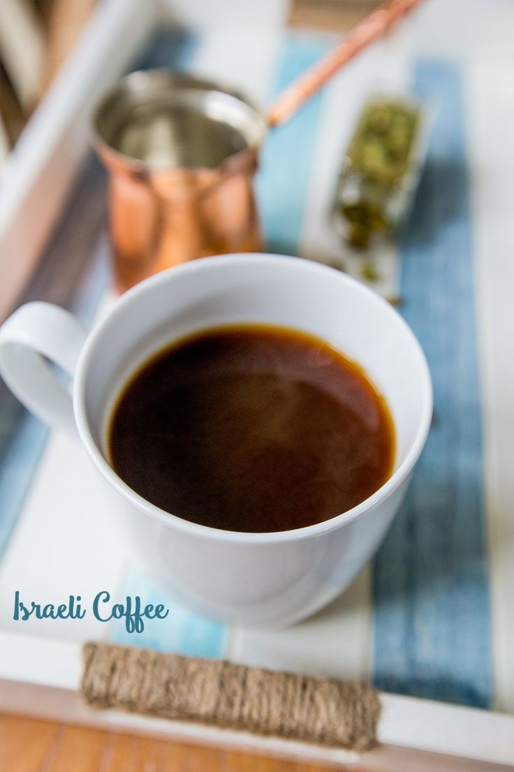 Israeli Cardamom Coffee, a twist on middle eastern mud coffee- as found in Israeli coffee shops- is a delicious, sinful, spiced coffee that is easy to make and a unique pick me up! Normally served in small espresso cups to show off a light, fluffy foam- it also serves as a strong, flavorful mug for mornings …