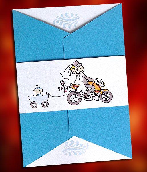 Προσκαλέστε συγγενείς, φίλους και αγαπημένο πρόσωπα στη διπλή χαρά του Γάμου & της Βάπτισης του γιου σας με αυτό το πρωτότυπο και οικονομικό προσκλητήριο Γαμοβάπτισης!  http://www.prosklitirio-eshop.gr/?454,gr_531501b