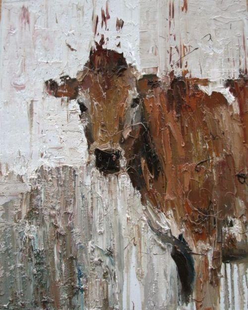 Carl Melegari. I just love this cow