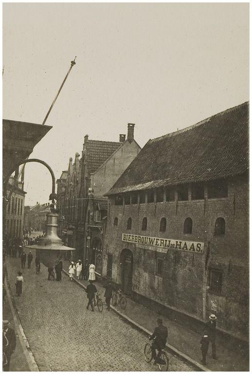 Bierbrouwerij De Haas, Vrijstraat Auteur: niet vermeld - 1895 - 1905