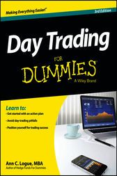 Day Trading For Dummies by Ann C. Logue In a continually evolving market, get the benefit of exchanging for yourself Day exchanging is without a doubt the most energizing approach to profit. Before you start, you require three things: persistence, nerves of steel, and a very much thumbed duplicate of Day Trading For Dummies. This plain-English guide demonstrates to you how day exchanging functions, recognizes its very various pitfalls, and kicks you off with an activity arrange. From…
