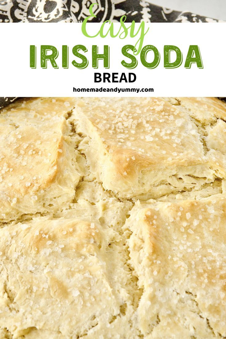 Soda Bread Requires Minimal Ingredients And Minimal Time