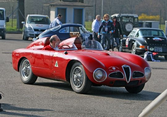 1952 ALFA ROMEO DISCO VOLANTE SPYDER - by Carrozzeria Touring Superleggera of Milan
