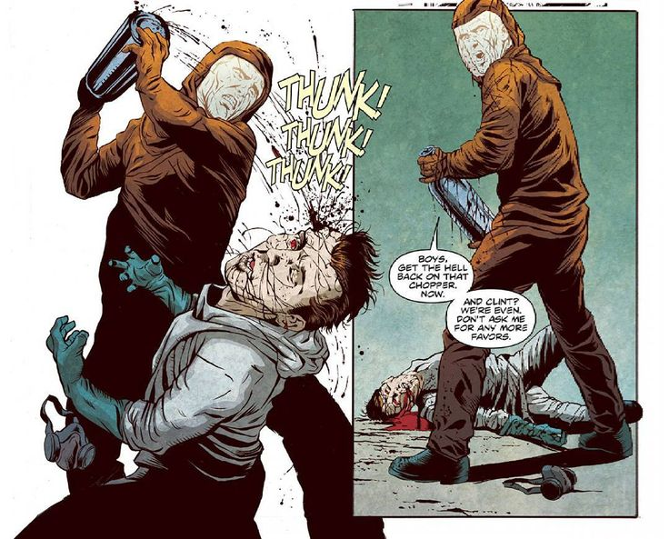 Boys, get the hell back on that chopper now. #28DaysLater #28WeeksLater #LondonCalling #Zombies #Undeads #ZombieHorde #ZombieKillin #ZombieKillinAction #Comics #BOOMStudios #ZombieComics #ComicBooks #ZombieApocalypse #Zombified #Zombieland #ZombieOutbreak #Horror #MichaelAlanNelson #DeclanShalvey #RageVirus #Hotzone #GhostTown #Homecoming #ComicsDune