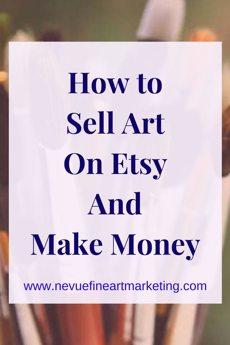 How To Sell Art On Etsy And Make Money Negocios