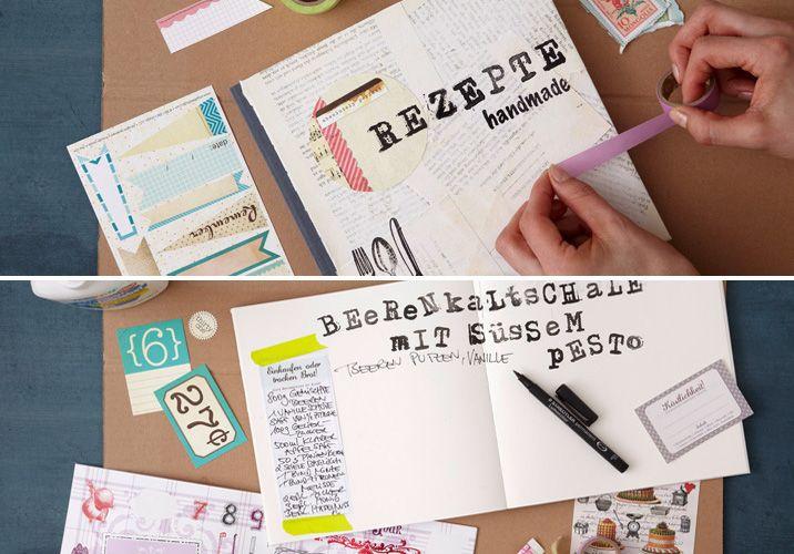 Handmade cookbook - our Lumocolor universal pens will help :)