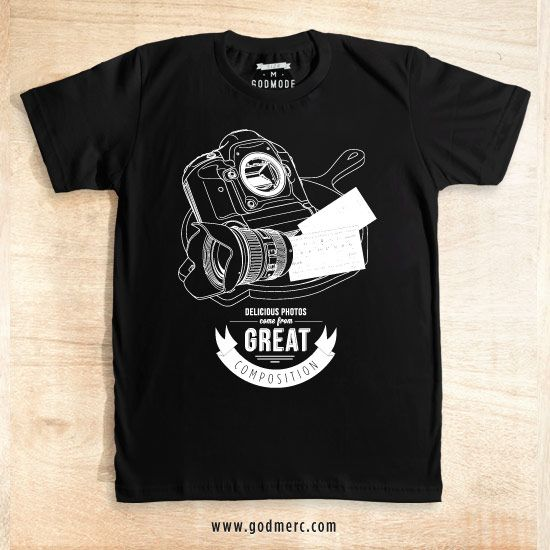 Delicious Composition Photography dari tees.co.id oleh Godmode Store