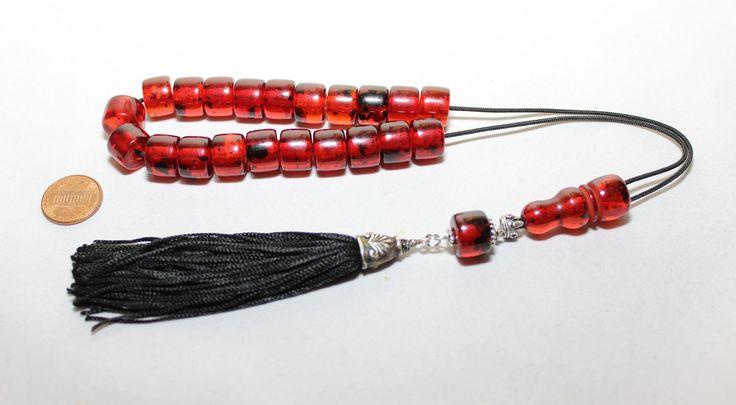Handmade Worry Beads, Greek Komboloi, Special Resins, Tesbih, Handmade Tassel, Relaxation, Meditation by AlterDecoCoinsnBeads on Etsy