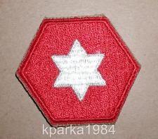 WW2 ERA US ARMY SIXTH ARMY INSIGNIA PATCH - TYPE 1