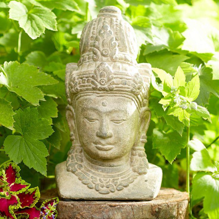 Balinese Goddess Stone Statue ~ Hand-Crafted by artisans in India via worldmarket.com/... #CRAFTBYWORLDMARKET