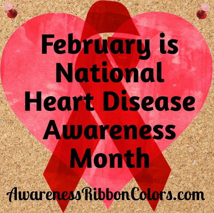 february is national heart disease awareness month  get
