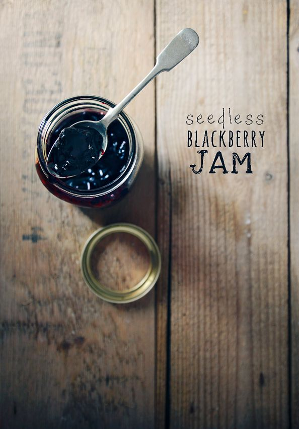 Seedless Blackberry Jam by things{we}make