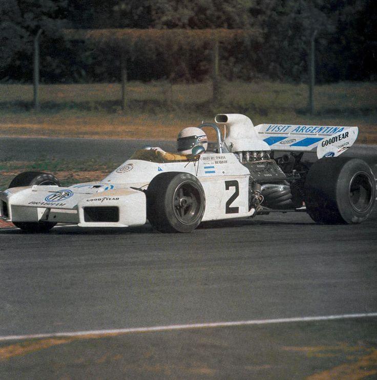 1972 YPF Brabham BT34 Carlos Reutemann