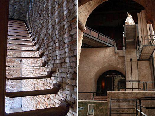 Carlo scarpa 39 s castelvecchio verona italy renovated - Carlo scarpa architecture and design ...