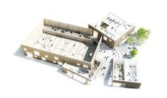 The New Urban School, Mixed Use Sports Complex Proposal / EFFEKT + Rubow,Courtesy of EFFEKT + Rubow