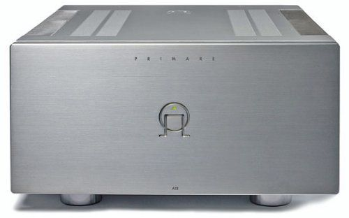 PRIMARE - A32 - 250w x 2 Amplifier in Silver by Primare. $4499.00. With the mighty A32 Primare has set foot on truly esoteric ground. This is a massive fully balanced design capable of controlling the most demanding low-sensitivity speakers - even at the very highest volume levels. The specification is impressive. Equipped with a 2kVa toroidal transformer featuring four separate windings, two for each (L/R) channel; a reservoir of 90.000 uF and sixteen bipolar output device...