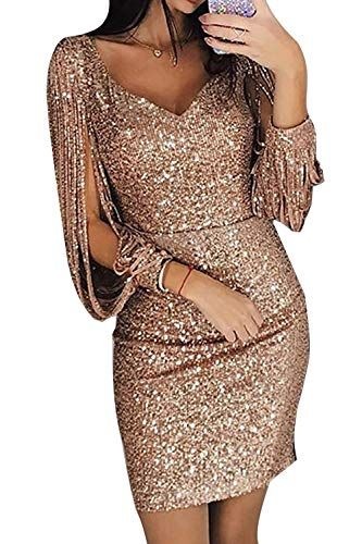 9113d4c615b Robe Pull Femme Sexy Grande Taille Femmes Occasionnels O-Neck Solide Perles  à Manches Longues